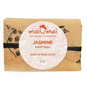 Jasmine 4 oz. goat milk soap bar image