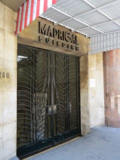 Madrigal Building Entrace