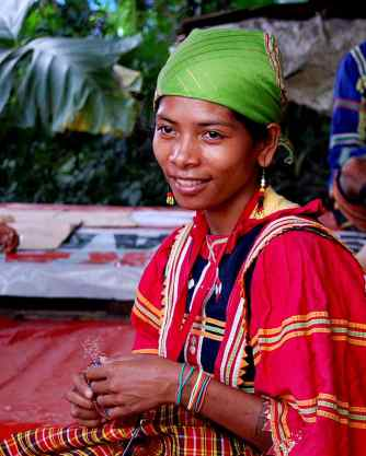 Members of Datu Tungig's tribe