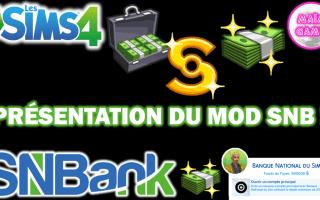 Mod SNB sims 4