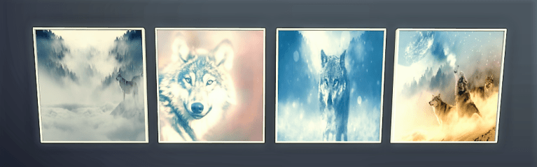 Photo 5 Maïa Game Tableaux Loups Pack 1