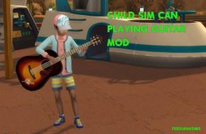 Les Enfants jouent de la Guitare !