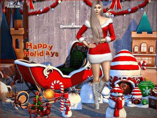 JenniSims : Packs de Noël !