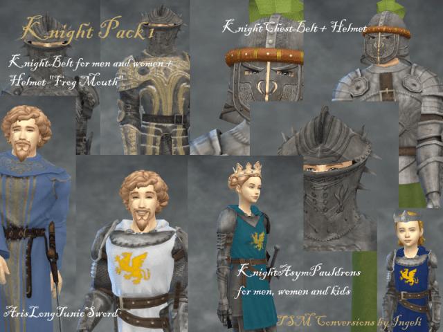 TSM : Tenues de chevaliers !