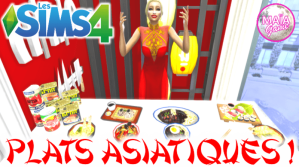 Ohmysims : Plats Asiatiques !
