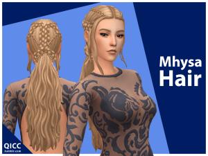 Quirkyintrovert : Coiffure Mhysa / Daenerys !