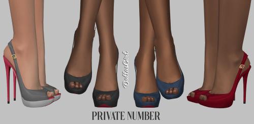 Chaussures de Dallas Girl !