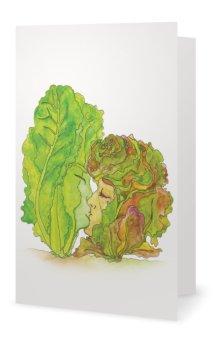 """Inside: """"Lettuce Be Lovers"""""""