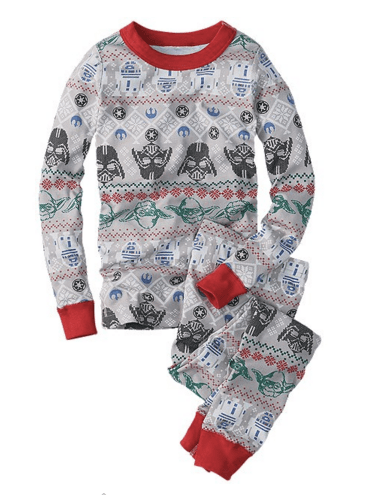 Hanna Andersson Star Wars fair isle pajamas
