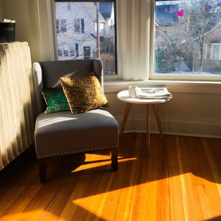 My living room on better days | Maia Nolan-Partnow dot com