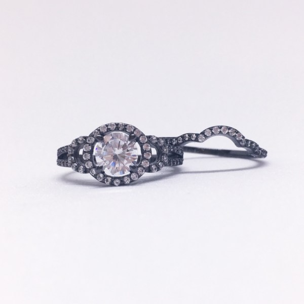 Charmed Aroma Black Gold Ring | Below Freezing Beauty