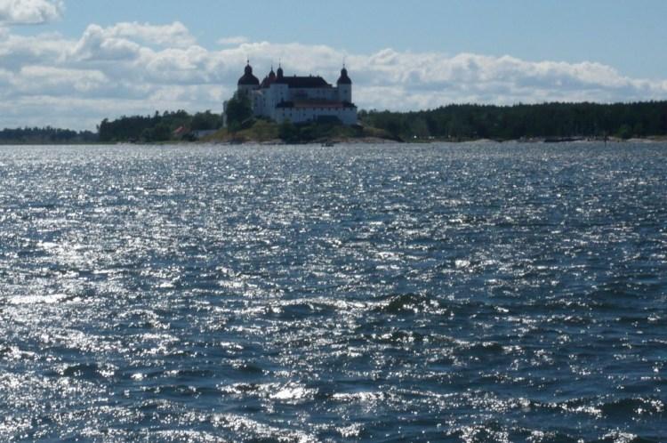 Läckö slott vue du lac