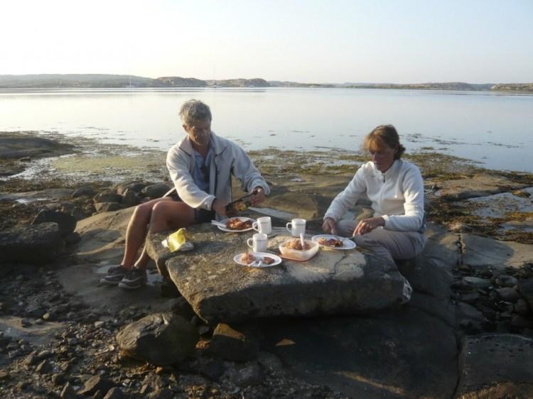 Barbecue à Musön