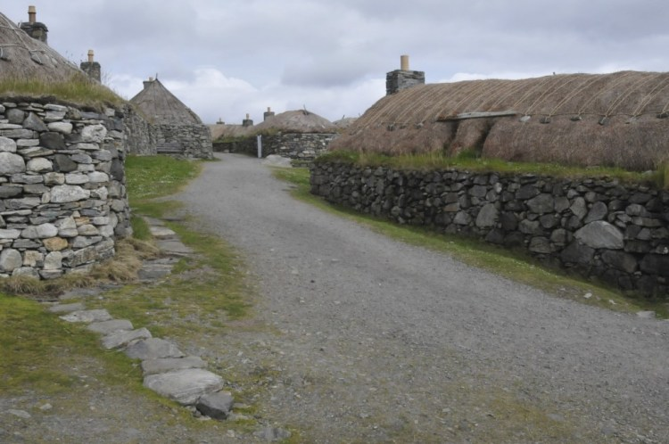 Black house à Lewis isle