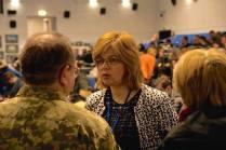 Dr. Olga Bogomolets during Conference