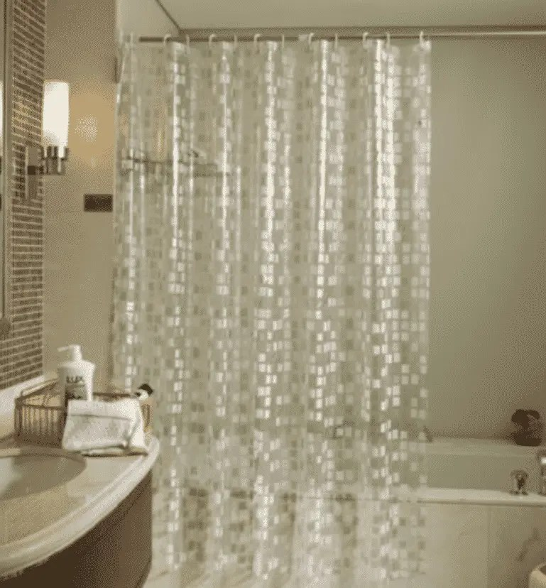 are plastic shower curtains washable
