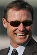 Trainer Ron Ellis scored with a longshot FTS #3 Canonize