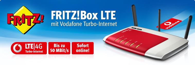 LTE direkt – Turbo-Internet mit Vodafone und AVM FRITZ!