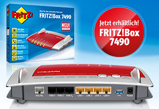NEU: AVM FRITZ!Box 7490 – Alles für das schnellste Heimnetz!