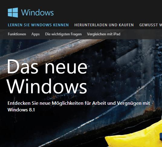 MICROSOFT WINDOWS 8.1 SPEZIAL: Neue Standards für Unternehmen und Business-Profis