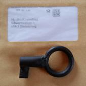 Schlüssel auf Kuvert