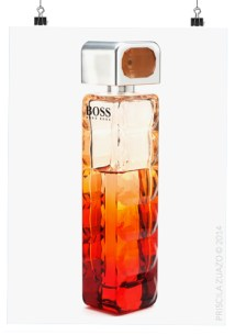 The Hugo Boss Sunset bottle.