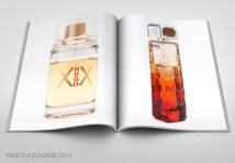 How the pages of a perfume catalogue would look like.