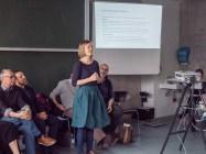 Ms. Jördis Dörner introducing her class on Design Didactics