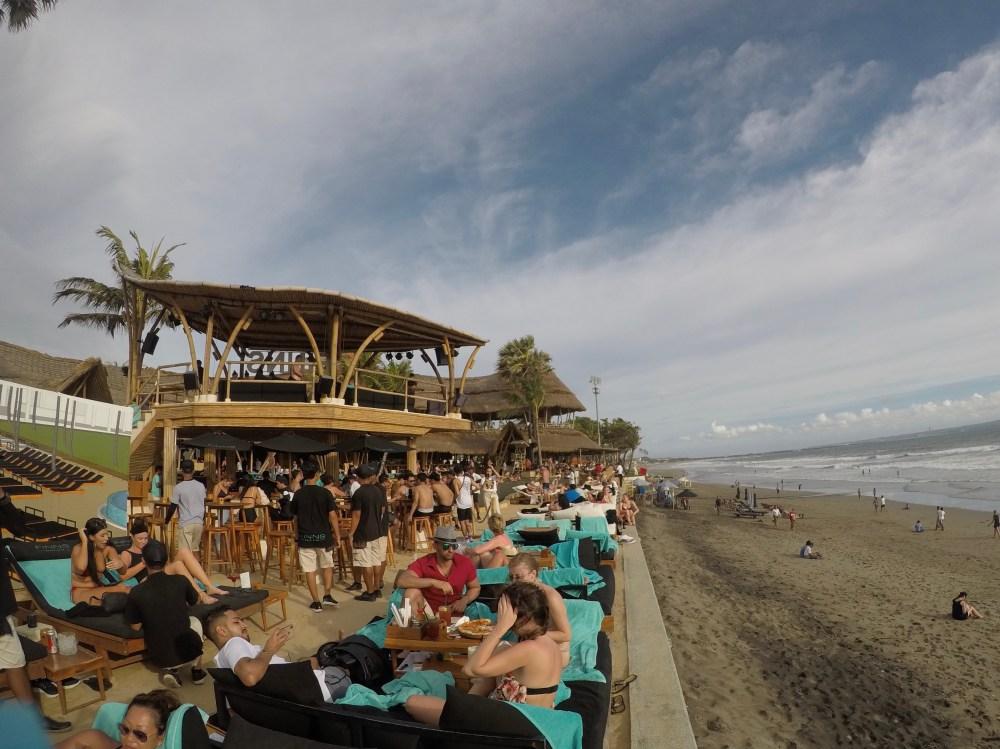 Finns beach Club Seminyak Bali
