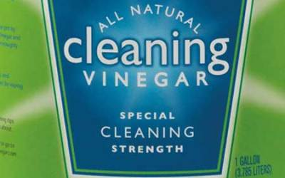 A Maid Service Cleaning with Vinegar — Really?