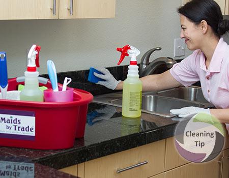 How to Clean Backsplash