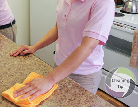 How To Clean Countertops | Maids By Trade