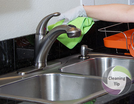 How to Clean Faucets