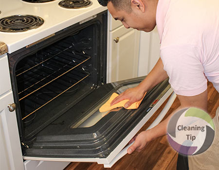 how to get a clean oven