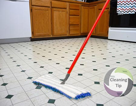 How To Clean Linoleum Flooring Maids By Trade - Easiest way to clean linoleum floors