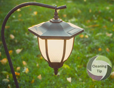 How to Clean Outdoor Light Fixtures