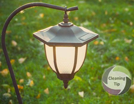 How to Clean Outdoor Light Fixtures