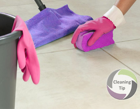 How To Clean A Tile Floor In A Few Steps Quick Easy Maids By Trade