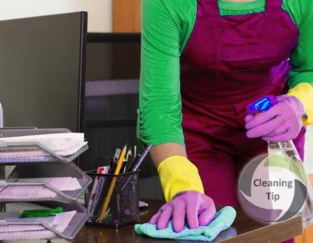How to Clean an Office