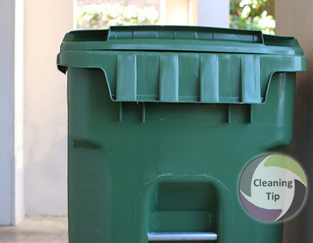 How to Clean a Garbage Can