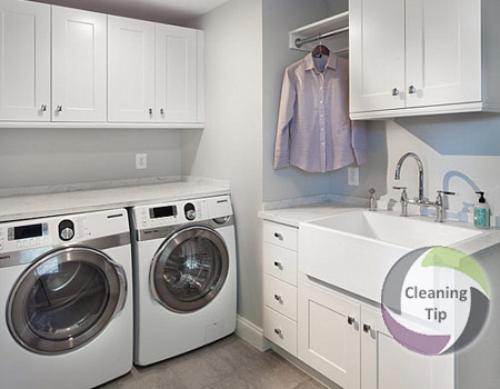 Need a clean laundry room? Follow link and see how easy it's to do it.