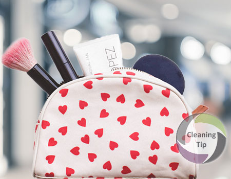 How to Clean a Makeup Bag