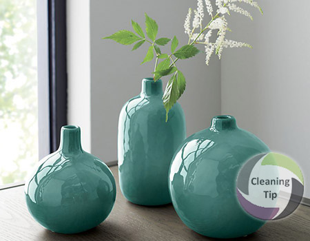 How to Clean a Vase