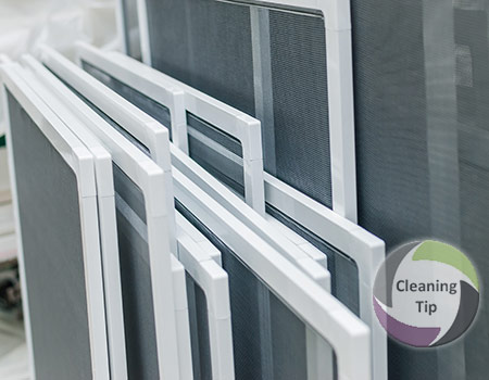 How to Clean a Window Screen