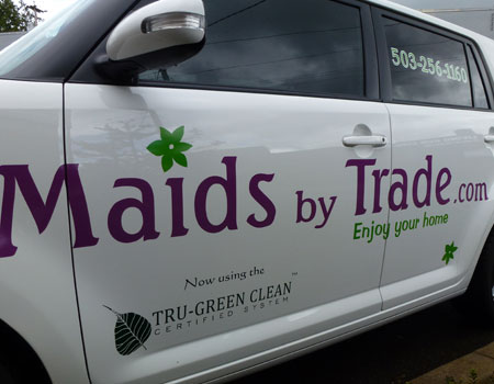 Why You Can Trust the Branded House Cleaning Car