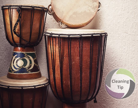 How to Clean Percussion Instruments