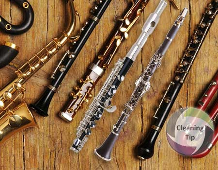 How to Clean Woodwind Instruments