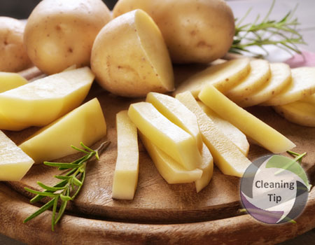 How to Clean with Potatoes