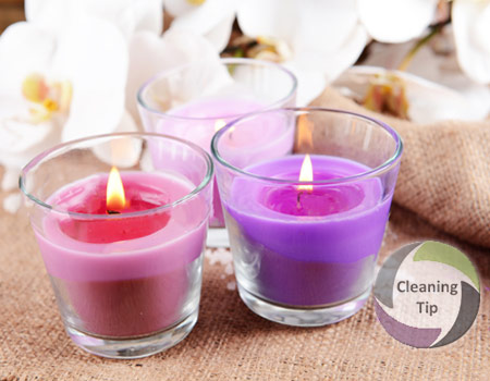 How to Remove Candle Wax from Glass