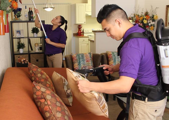 Maids by Trade cleaning crew